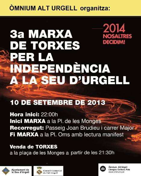 MARXA TORXES 2013 SEU URGELL